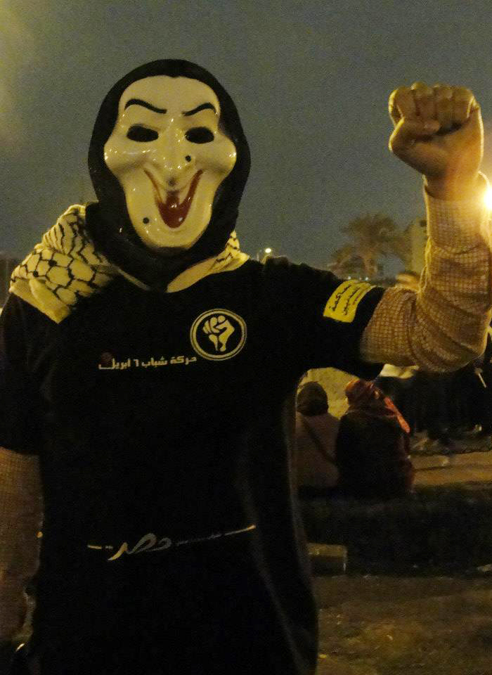 أحد مؤسسين حركة 6 أبريل فى أحداث محمد محمود