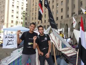 اعتصام الحركة فى ميدان التحرير ضد ترشح شفيق للانتخابات